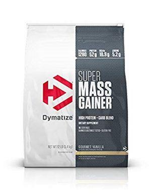 dymatize super mass gainer 12 lb
