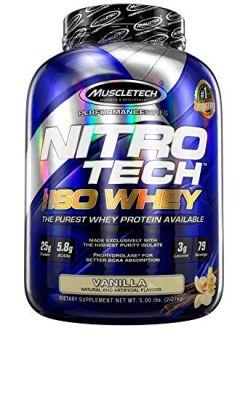 Muscle Tech NITRO-TECH ISO Whey