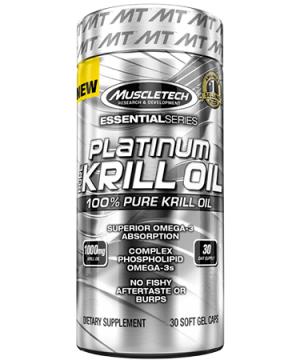 MuscleTech PLATINUM PURE KRILL OIL