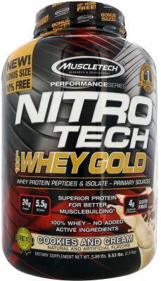 Muscle Tech NITRO-TECH 100% Whey Gold