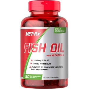 MET_RX FISH OIL WITH VITAMIN D