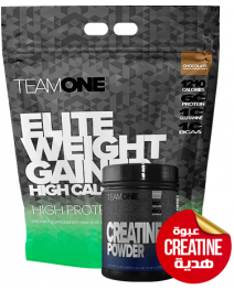 TEAM ONE ELITE WEIGHT GAINER + Gift