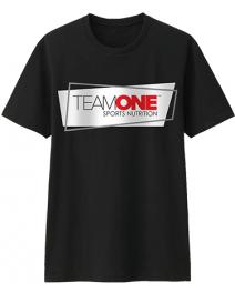 TEAM ONE t-shirt a rectangle  design
