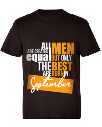 24Protein T-Shirt  Only for those who born on September