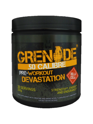 Grenade Pre-Work Out Tub