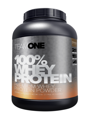 TEAM ONE 100% WHEY PROTEIN