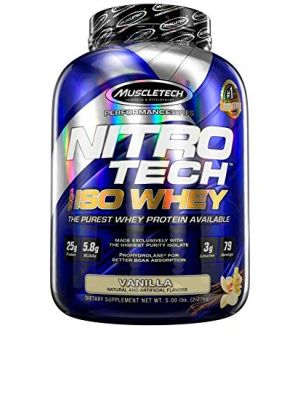 Muscle Tech NITRO-TECH ISO Whey