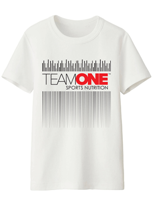 TEAM ONE t-shirt wave design