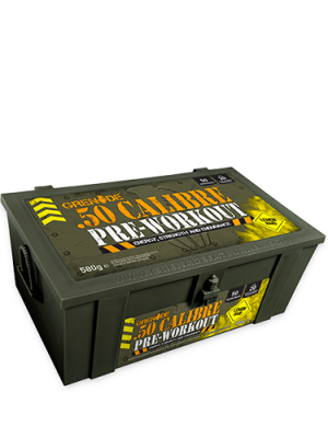 Grenade 50 CALIBRE AmmoBox Pre-Workout