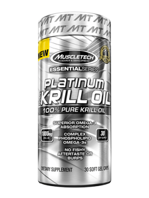MuscleTech PLATINUM PURE KRILL OIL