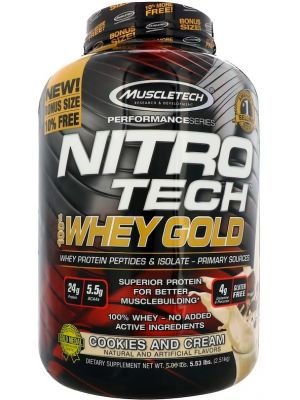 Muscle Tech NITRO-TECH 100% Whey Gold