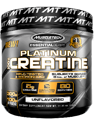 Platinum 100% Creatine , 400 Grams Unflavored