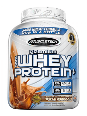 MUSCLE TECH PREMIUM 100% WHEY PROTEIN PLUS