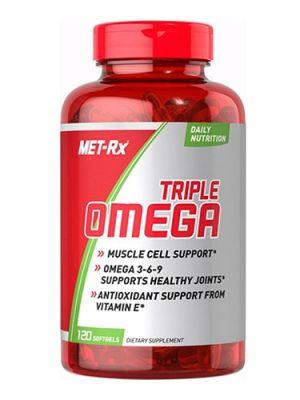 MET_RX TRIPLE OMEGA 3-6-9