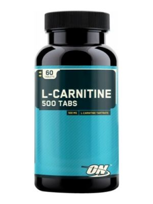 Optimum L - CARNITINE 500 TABS