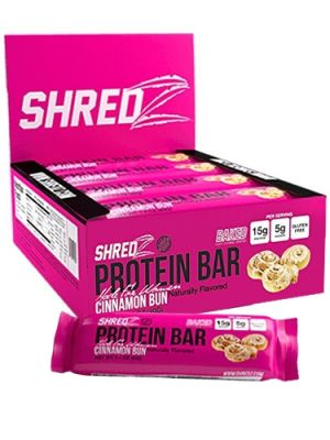 Shredz Protein Bars