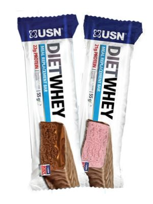 USN DIET WHEY BARS